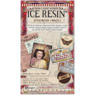Ice Resin Ephemera Image Assortment (20 Double Sided Sheets)