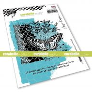 If nothing ever changed Cling Stamp A6 by Birgit Koopsen for Carabelle Studio (SA60543E)