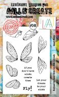 No. 348 Insect Wings Aall and Create A6 Stamp
