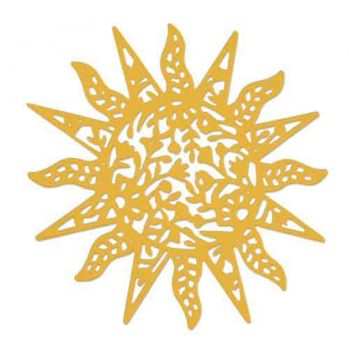 Intricate Sun - Sizzix Thinlets Die - Sophie Guilar - 663417