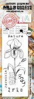No. 333 Iris Aall and Create Border Stamp