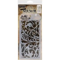 Ironwork - Layered Stencil - Tim Holtz and Stampers Anonymous (THS148)