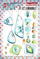 JOFY (Jo Firth Young) 104 A5 Cling Rubber Stamp Set (JOFY104) for PaperArtsy