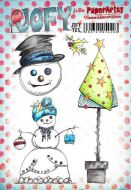 JOFY (Jo Firth Young) 105 A5 Cling Rubber Stamp Set (JOFY105) for PaperArtsy
