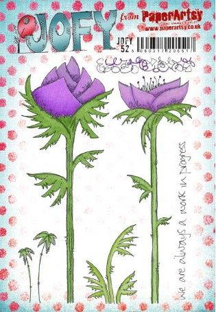 JOFY52 A5 Cling Rubber Stamp Set