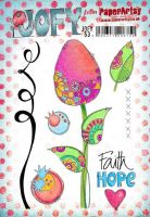 JOFY53 - Jo Firth Young PaperArtsy Cling Rubber Stamp Set