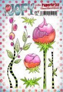 JOFY Jo Firth Young (JOFY94) Paperartsy a5 cling rubber stamp set