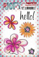 JOFY95 JOFY Paperartsy A5 Cling Rubber Stamp Set