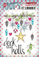 PRE-ORDER EXPECTED 5 October Jo Firth Young 107 (JOFY107) PaperArtsy A5 sized Cling Rubber Stamp Set