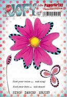 Jo Firth Young JOFY77 PaperArtsy A5 Cling stamp set
