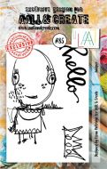 Juniper Aall and Create A7 Stamp Fiona Paltridge 85 (AAL00085)