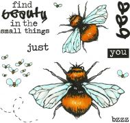 Just Be You (CS270D) Hobby Art Stamps
