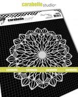 Kaleidoscope No. 1 by Birgit Koopsen for Carabelle Studio (MARO60014) - Mask Round 6 inch