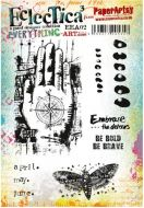 PaperArtsy - Kasia Everything Art 02 (EEA02) A5 Cling Rubber stamp set