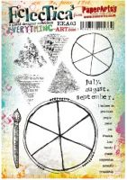 PaperArtsy - Kasia Everything Art 03 (EEA03) A5 Cling Rubber stamp set