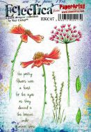 Kay Carley 47 Halimium A5 Cling Rubber Stamp Set (EKC47) for PaperArtsy