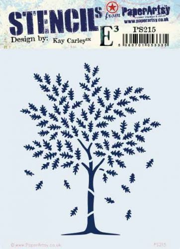 Kay Carley Regular PaperArtsy Stencil (PS215)