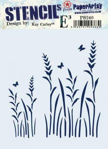 Kay Carley Regular PaperArtsy Stencil (No. 240) - PS240