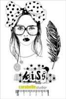 Kiss - Carabelle Studio a6 cling rubber stamp (SA60125)
