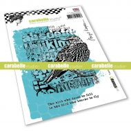 Learn to fly Cling Stamp A6 by Birgit Koopsen for Carabelle Studio (SA60542E)