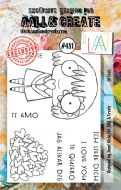 Lil Love No. 481 Janet Klein Aall and Create A7 Stamp Set