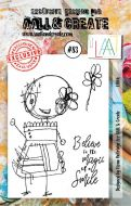 Lilith Aall and Create A7 Stamp Fiona Paltridge 83 (AAL00083)
