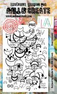 Lined Crescents No. 460 Bipasha BK Aall and Create A6 Stamp Set