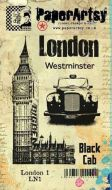 London Plate 1 (LN1EZ) PaperArtsy Collections Vintage Stamps