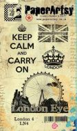 London Plate 4 (LN4EZ) PaperArtsy Collections Vintage Stamps