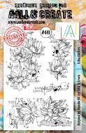 Lotus Clusters No. 441 Aall and Create A5 sized stamp by Bipasha BK (AAL00441)