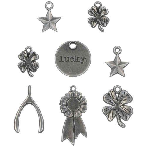 Lucky Metal Adornments Tim Holtz Idea-Ology 8 Pack (TH94131)