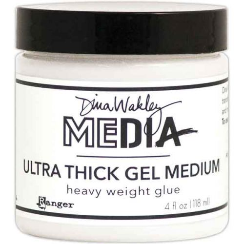 Dina Wakley Media Ultra Thick Gel Medium 4oz