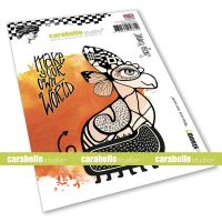 Make your own world Cling Stamp A6 by Soraya Hamming for Carabelle Studio (SA60549E)