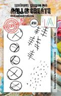 Marking Time Aall and Create A7 Stamp Fiona Paltridge 94 (AAL00094)