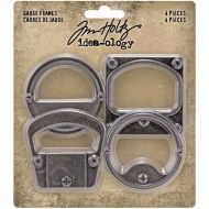 Expected approx 23 April Metal Gauge Frames Tim Holtz Idea-Ology 2 in by 2 in- 4 Pack (TH94141)