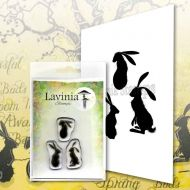 Wild Hares Set small Lavinia Stamps (LAV614)