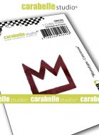 Monolith : Crown by Carabelle Studio (SMI0306) - Cling Stamp Small