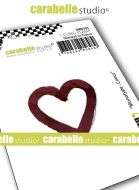 Monolith : Heart by Carabelle Studio (SMI0305) - Cling Stamp Small