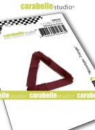 Monolith : Triangle by Carabelle Studio (SMI0303) - Cling Stamp Small