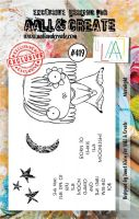 Moonlight No. 419 Aall and Create A7 sized stamp by Janet Klein (AAL00419)