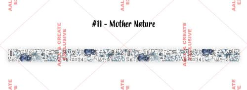 Mother Nature (No. 11) 20mm thick washi tape by Tracy Evans for Aall and Create (AALWT011)