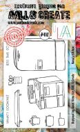 Nanas Kitchen No. 410 Aall and Create A6 sized stamp by Janet Klein (AAL00410)