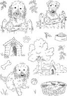 Neighbours A5 Hobby Art Stamp Set (CS262D)