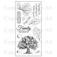 Oak Tree Hobby Art Clear Stamp Set CS145D