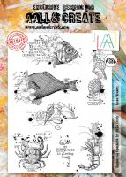 Ocean Wonders No. 386 Aall and Create A4 sized stamp by Bipasha BK (AAL00386)