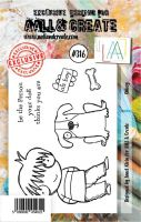 No. 316 Oh Boy Aall and Create A7 Stamp