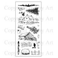 Old Barn Hobby Art Clear Stamp Set (CS089D)