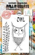 No. 306 Owl Aall and Create A7 Stamp