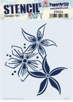PS055 PaperArtsy Stencil