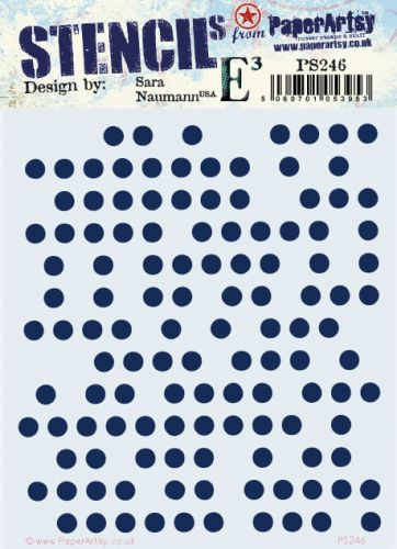 Sara Naumann Eclectica (PS246) Regular PaperArtsy Stencil